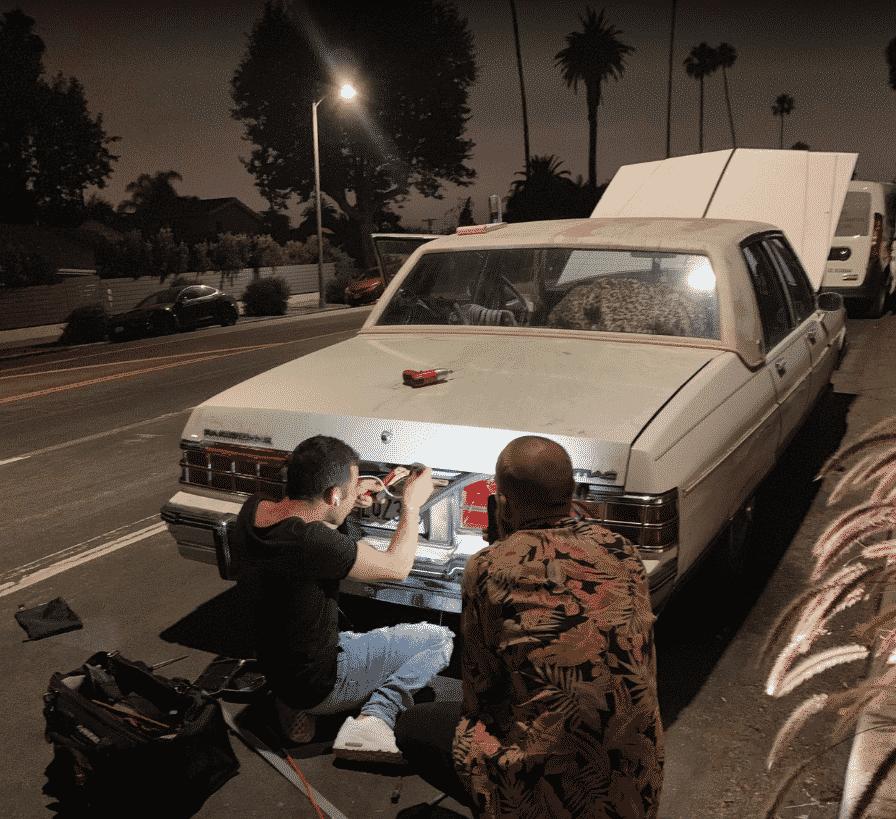 late-night trunk unlock job